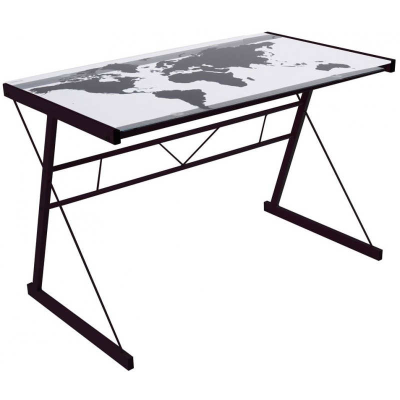 bureau vitr. Black Bedroom Furniture Sets. Home Design Ideas